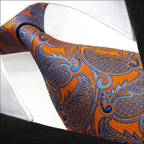 Для мужчин На каждый день Галстук,Искусственный шёлк от Lightinthebox.com INT