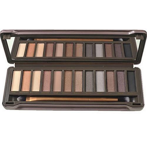 12 Colors Eyeshadow Palette / Powders / Makeup Mirror Eye Mirror Daily Makeup / Smokey Makeup Makeup Cosmetic