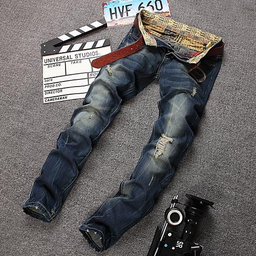 Мужские, повседневные брюки, из хлопка, большие размеры