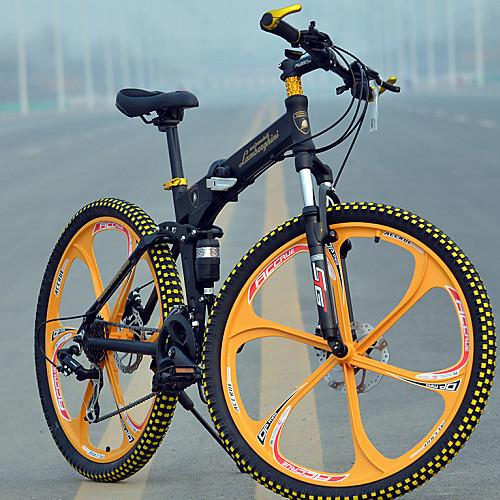 Горный велосипед / Складные велосипеды Велоспорт 27 Скорость 26 дюймы / 700CC MICROSHIFT TS70-9 Дисковый тормоз Вилка Задняя подвеска Обычные Алюминиевый сплав