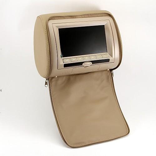 Автомобильный, 7-дюймовый DVD-плеер с поддержкой игр, карточка SD (1 пара), для подголовника