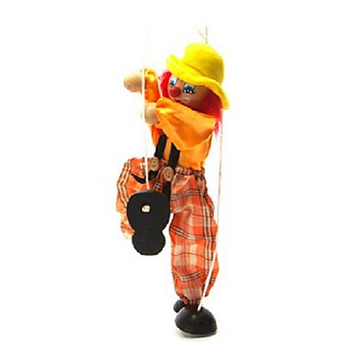 Марионетка игрушки красочные клоун кукла родитель-ребенок интерактивные игрушки (больше цветов) фото