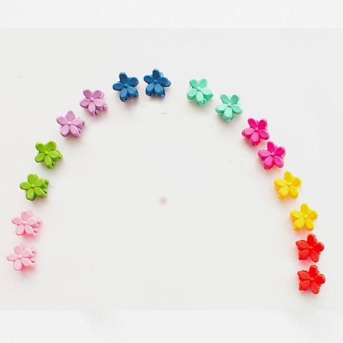 Мини маленький цветок небольшой клип головной убор хан издание матовые дети взрыва небольшой волос коготь темно смешанной 10 / группа фото