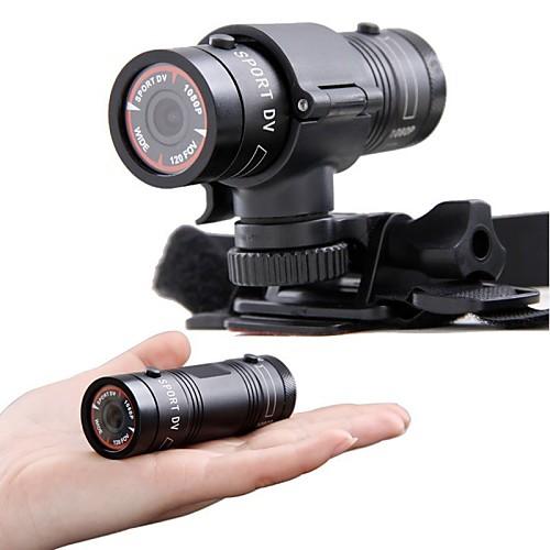 Новый мини DV спорта F9 Full HD 1080p водонепроницаемый спортивный камера цифровая действия экстремальных видов спорта видеокамера