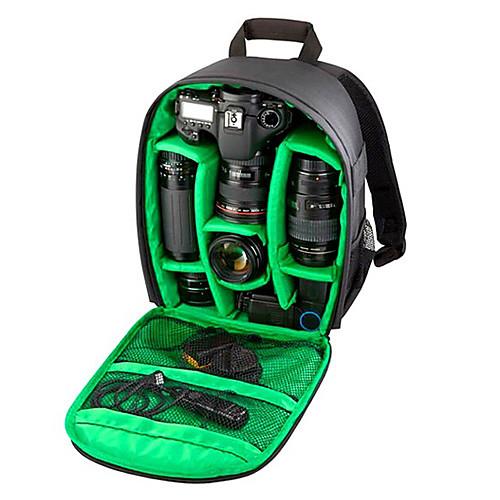 Фотография мульти-functionaldigital DSLR камеры сумка рюкзак водонепроницаемый фото Камара сумки случай Mochila для фотографа, Зеленый