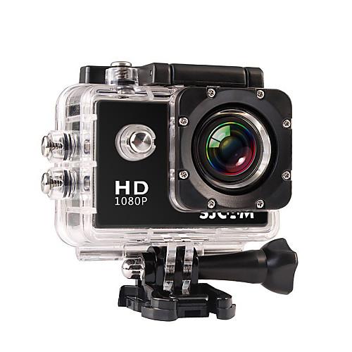 SJCAM SJ4000 Экшн камера / Спортивная камера 12MP 4000 x 3000 Многофункциональный Водонепроницаемый Большой угол ЖК экран 30fps 4X 2,0