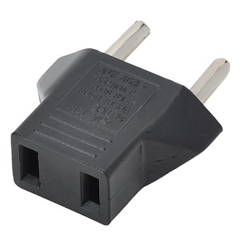 мы подключить к ес Power Plug адаптер - черный