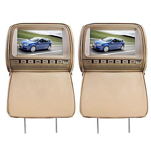 делюкс 9 подголовник автомобиля DVD-плеер и защитная крышка экрана
