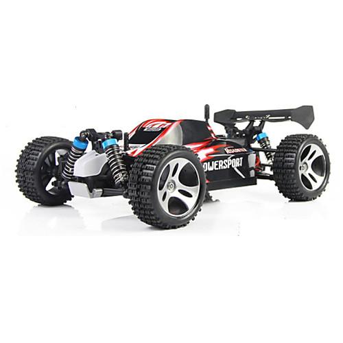 Машинка на радиоуправлении WL Toys A959 2.4G Внедорожник Высокая скорость 4WD Дрифт-авто Гоночный багги 1:18 Коллекторный электромотор 45