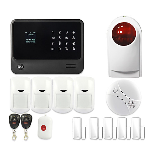 WIFI Based Home Automation Security Alarm System GS-G90B Plus от Lightinthebox.com INT