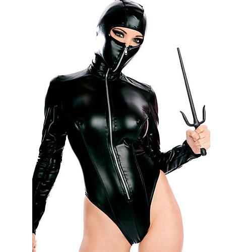 Жен. Животный принт Больше костюмов Секси униформа Больше костюмов Пол Костюмы на все тело