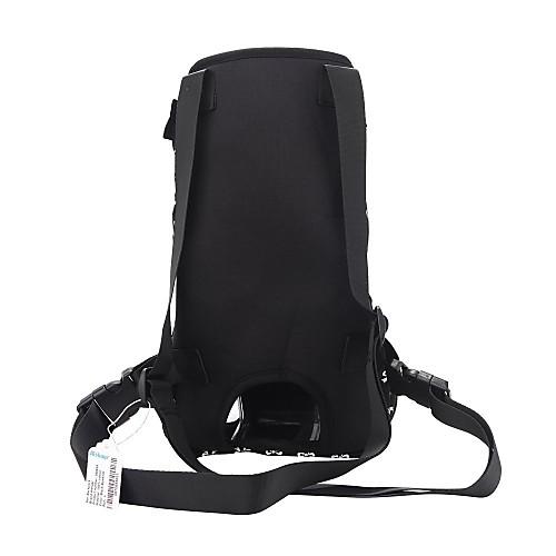 lightinthebox / Gato Perro Transportines y Mochilas de Viaje Frente Mochila Mascotas Portadores Portátil Transpirable Lazo Negro Rosa