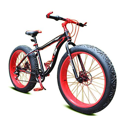 Горный велосипед Велоспорт 7 Скорость 26 дюймы / 700CC Shimano Двойной дисковый тормоз Вилка Моноблок Обычные Алюминиевый сплав / Сталь / #