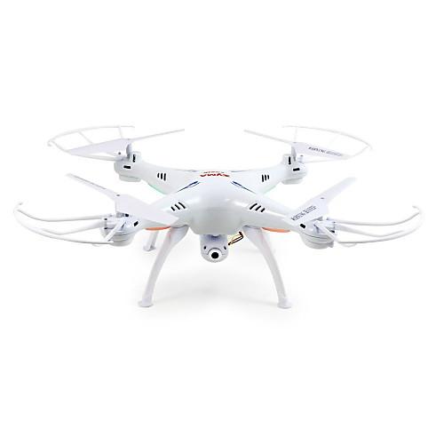 RC Дрон SYMA X5SW 10.2 CM 6 Oси 2.4G С HD-камерой 2.0 мп Квадкоптер на пульте управления FPV LED Oсвещение Прямое Yправление Полет C