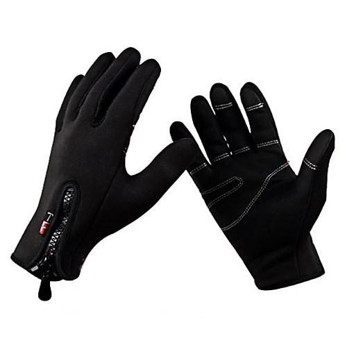 Перчатки Спортивные перчатки Жен. Муж. Все Перчатки для велосипедистов Осень Зима ВелоперчаткиСохраняет тепло Ветронепроницаемый Дышащий от Lightinthebox.com INT