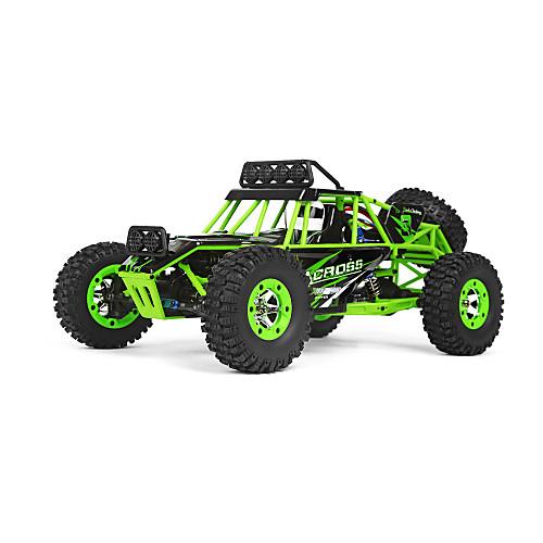 Машинка на радиоуправлении WL Toys 12428 2.4G Внедорожник Высокая скорость 4WD Дрифт-авто Гоночный багги 1:12 Коллекторный электромотор 50