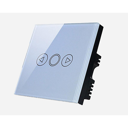 умный дом сенсорный диммер светодиодный прожектор диммер стены, Черный / белый