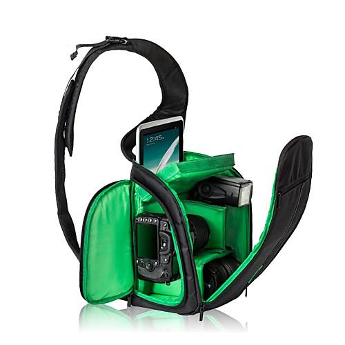Зеленый / Оранжевый-Сумки-С открытым плечом-Водонепроницаемый / Защита от пыли-SLR- дляУниверсальный / Canon / Nikon / Olympus / Sony / от Lightinthebox.com INT