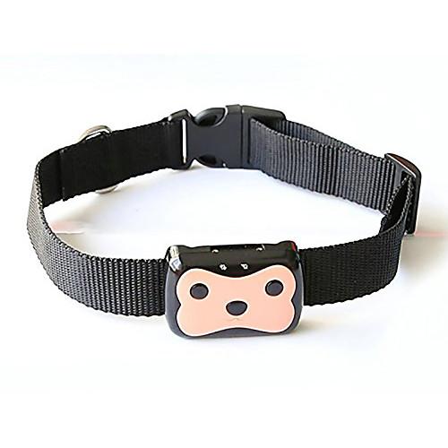 Собака GPS-ошейники Водонепроницаемость Батареи прилагаются GPS Животное PC (поликарбонат) Черный