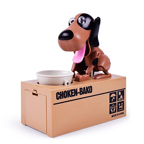 Копилки Кража монетного банка Экономия денег Case Piggy Bank Choken Bako Bank Робот-собака Игрушки Собаки Куски Подарок