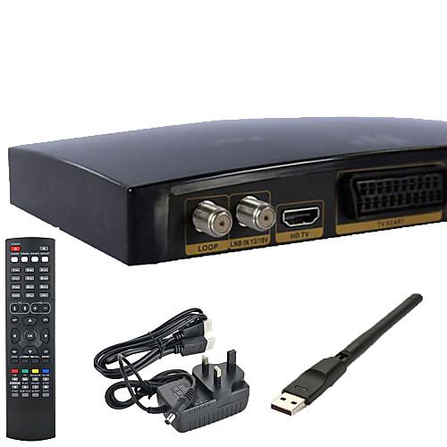 V8s Openbox полный HD1080P Freesat приемник коробки PVR ТВ Спутниковая антенна WiFi с сетевой картой