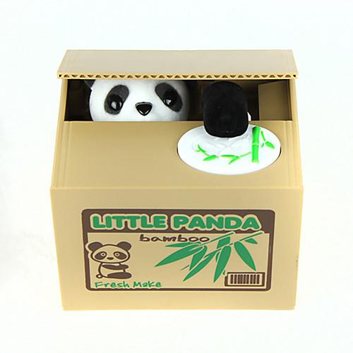 Itazura Копилки Кража монетного банка Экономия денег Case Piggy Bank Игрушки Милый стиль Квадратный Панда Куски Подарок