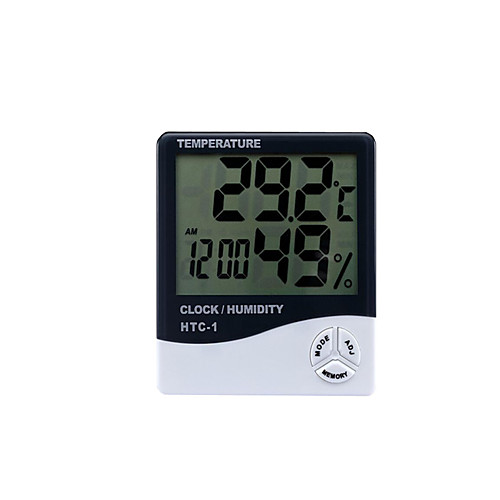 цифровой термометр htc-1 внутренний и наружный электронный гигрометр электронный гигрометр