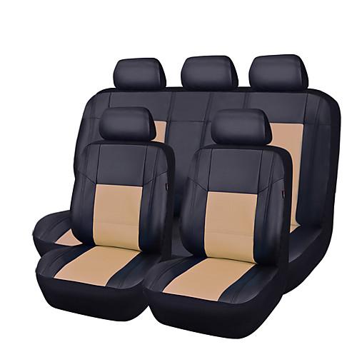 CARPASS Чехлы на автокресла Чехлы для сидений Бежевый / Серый / ярко-голубой Кожа PU Деловые Назначение Универсальный, Розовый