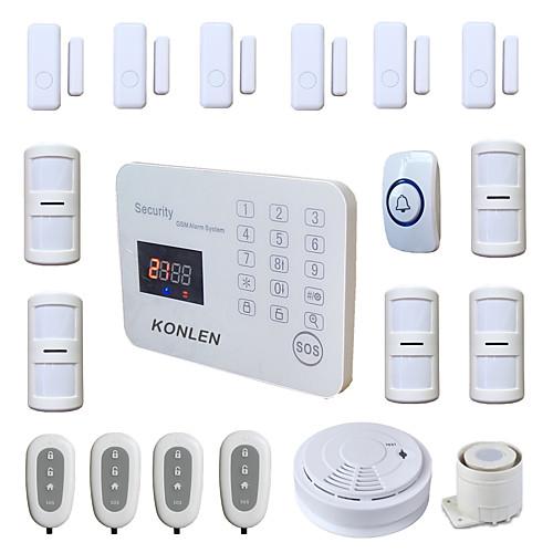433 МГц SMS Телефон 433 МГц GSM Телефонный будильник SMS-будильник Звуковая сигнализация Местный сигнализатор E-mail предупреждение от Lightinthebox.com INT