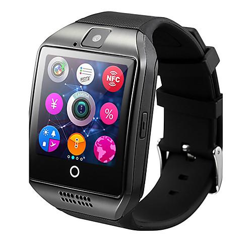 Q18 Мужчины Смарт Часы Android iOS 3G Bluetooth Водонепроницаемый Пульсомер Хендс-фри звонки Видео Фотоаппарат Таймер Секундомер Датчик для отслеживания сна Найти мое устройство будильник / 128MB