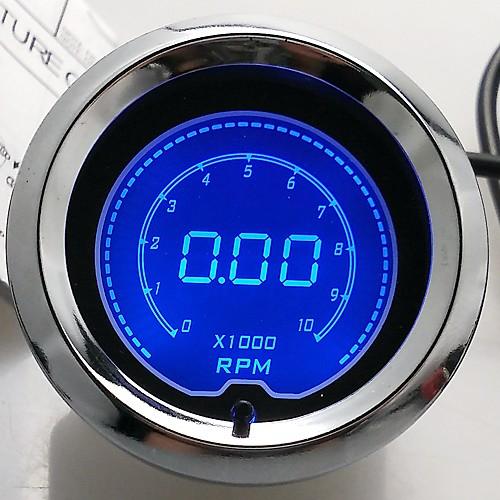 """2 """"""""(52мм) ЖК-цифровой 7 цветной дисплей тахометра оборотов манометр / автоматический измерительный прибор от Lightinthebox.com INT"""
