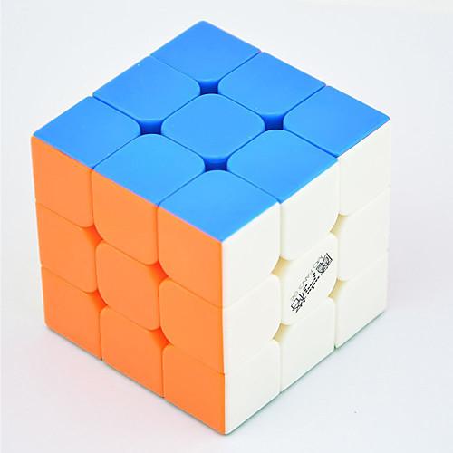 Волшебный куб IQ куб QI YI LEISHENG 120 333 Спидкуб Кубики-головоломки головоломка Куб профессиональный уровень Скорость Соревнование Классический и неустаревающий Детские Взрослые Игрушки, Белый