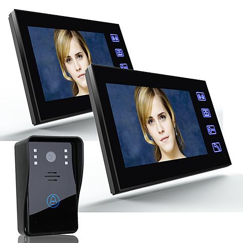 Ennio 7 видео домофон домофон дверной звонок 1000tvl наружная камера безопасности 2pcsindoor monitor от Lightinthebox.com INT