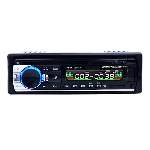 громкой многофункциональная автомагнитола автомобильный радиоприемник Bluetooth стерео аудио в тире фм входного AUX приемника USB диска SD