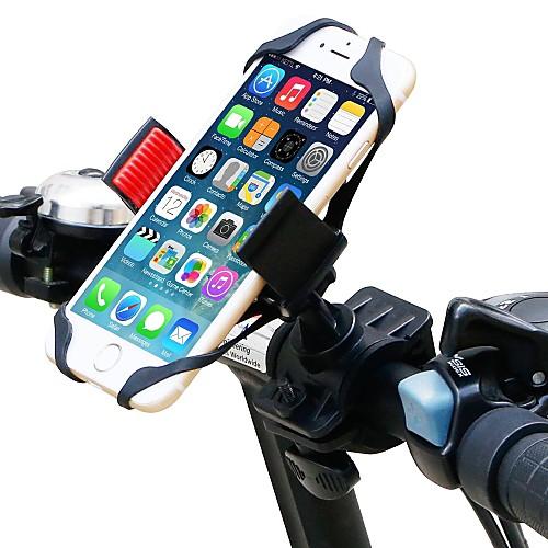 Крепление для телефона на велосипед GPS, Прочный, Регулируется Велосипедный спорт / Велоспорт пластик Черный / Красный - 1pcs