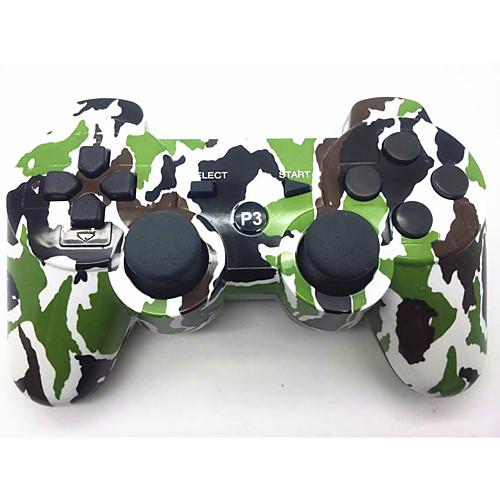 Беспроводное Игровые контроллеры Назначение Sony PS3 , Bluetooth / Игровые манипуляторы / Перезаряжаемый Игровые контроллеры ABS 1 pcs Ед. изм, Зеленый / черно