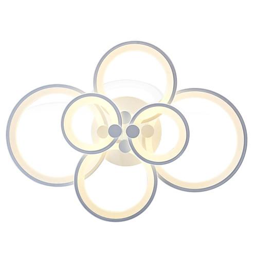 6-голова современный стиль простота акрил водить потолочная лампа заподлицо гостиная гостиная столовая спальня светильник