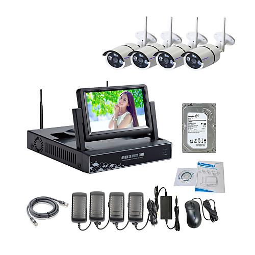 strongshine Беспроводная IP-камера с 960P / инфракрасные / водонепроницаемый и NVR с 7inch ЖК / 2TB комплектов HDD наблюдения от Lightinthebox.com INT