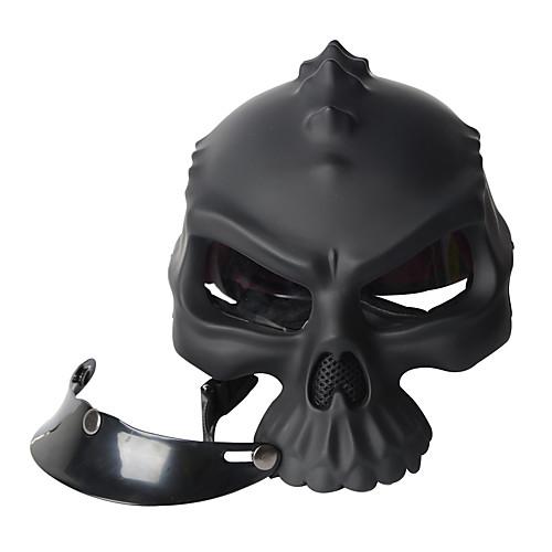 JC1610007-09 Открытый шлем Взрослые Универсальные Мотоциклистам Дышащий, Черный