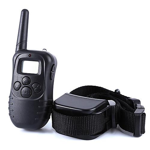 Собака Кора Воротник Тренировочные ошейники для собак Анти Кора 300M Дистанционное управление Электроника/Электрический LCD Вибрация