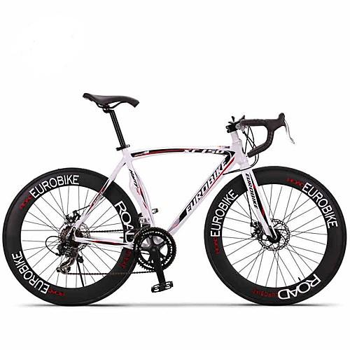 Дорожные велосипеды Велоспорт 14 Скорость 26 дюймы / 700CC SHIMANO A050 Двойной дисковый тормоз Без амортизации Моноблок / Рама с жесткой задней подвеской Обычные Алюминиевый сплав, Белый