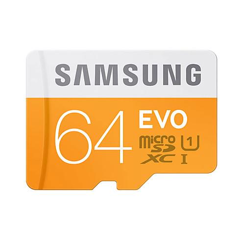 SAMSUNG 64 Гб Карточка TF Micro SD карты карта памяти UHS-I U1 Class10 EVO