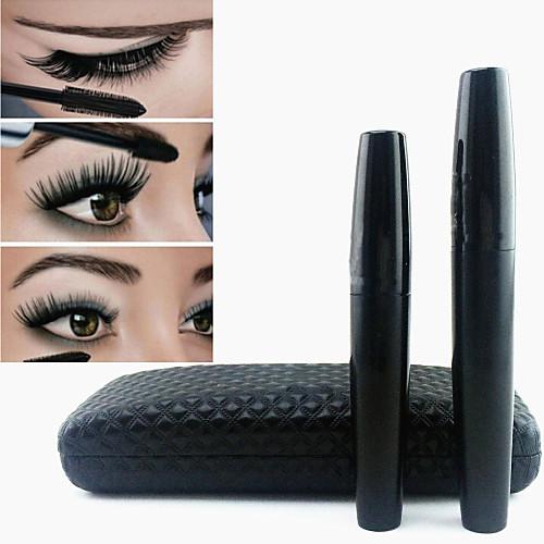 Тушь для глаз, густые ресницы, 3D объем, Черный Водонепроницаемый, Mascara Set, 2шт. от Lightinthebox.com INT