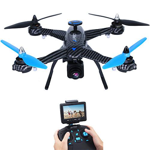 RC Дрон JJRC X1G 10.2 CM 6 Oси 5.8G С HD-камерой 2.0 мп Квадкоптер на пульте управления FPV LED Oсвещение Отказоустойчивость Полет C
