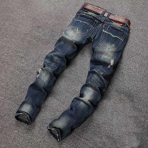 Мужские, повседневные брюки, из хлопка, большие размеры от Lightinthebox.com INT