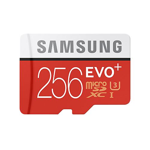 Samsung 256GB Карточка TF Micro SD карты карта памяти UHS-I U3 Class10 EVO Plus EVO