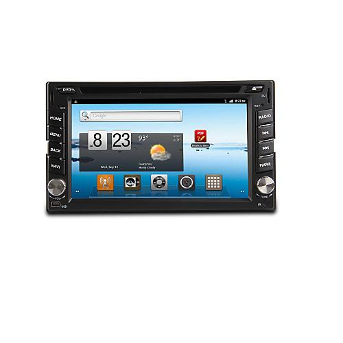DVD-плеер для автомобиля, с Bluetooth, GPS-Ready, Ipod-Input, RDS, Wi-Fi, телевизор, 6.2-дюймовый гама 2 TFT <br>