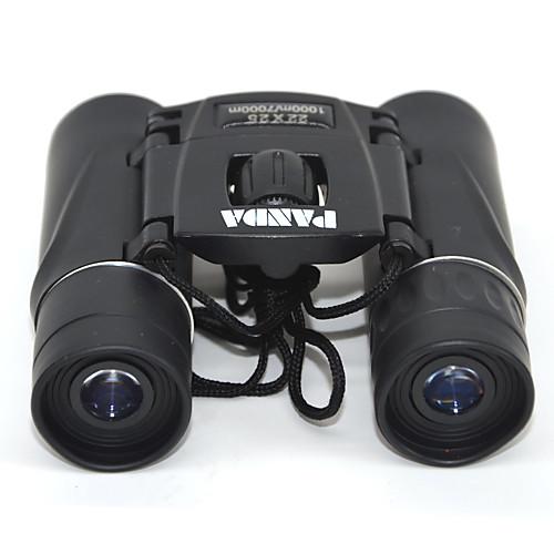 PANDA 22 X 25 mm Бинокль Линзы Высокое разрешение Общий Переносной чехол Многослойное покрытие BAK4 Ночное видение Ластик / Для охоты