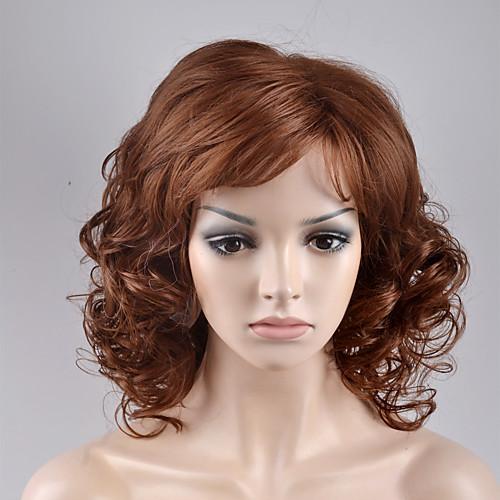 Парики из искусственных волос Свободные волны Свободные волны Парик Блондинка Короткие Блондинка Искусственные волосы Жен. Блондинка фото