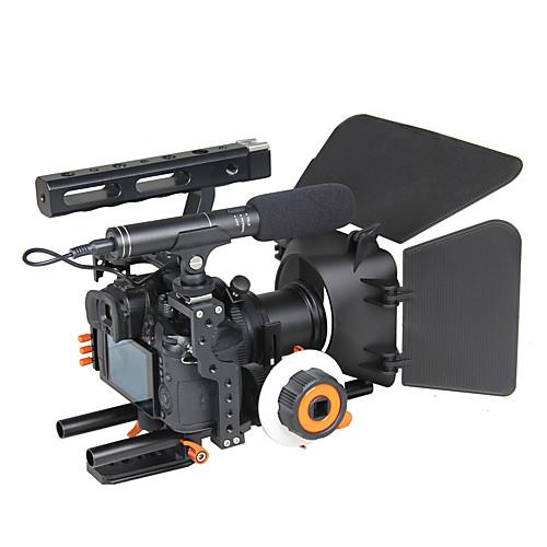yelangu популярный DSLR камеры клетка плечевая установка комплект c500 содержит следует матовые поддержки рамки фокусировки универсальные от Lightinthebox.com INT